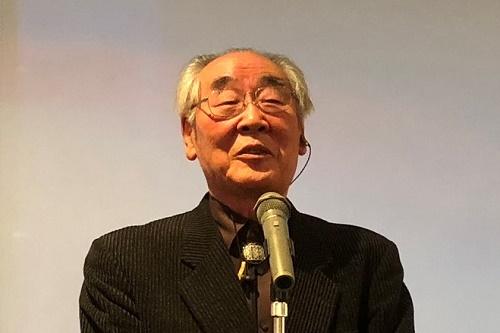 辻脇系一前会長の挨拶