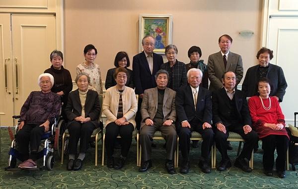 平成30年西九州現代俳句協会総会・句会(前列中央前川会長)