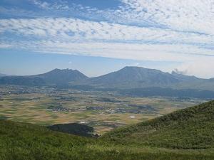 熊本 阿蘇五岳
